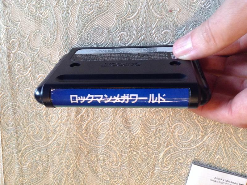 (VDS) Rockman Mega World Mega Drive Jap Img_2815