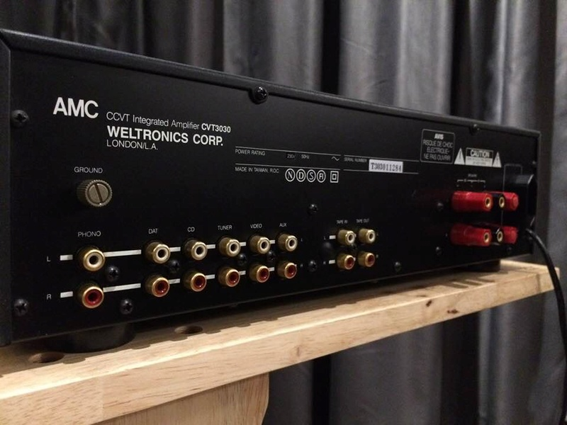 AMC CVT-3030  Integrated Valve Amplifier (Used) 31959710