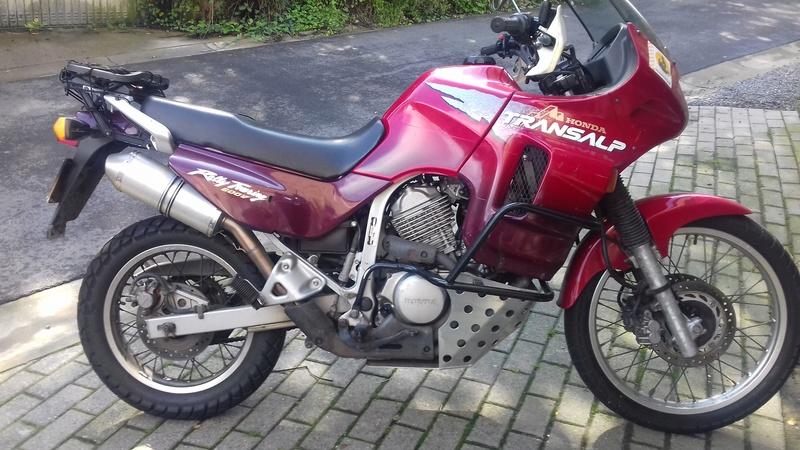 transalp 600/1998 vendre  20170810