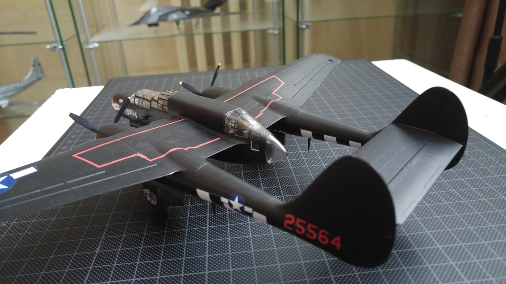 [HobbyBoss]P-61A Black Widow 1/72 20180128