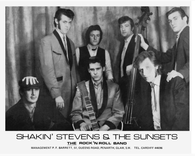 Shakin' Stevens and the Sunsets - Jungle rock / Girl in Red - Carrere 39°5 0d547d11