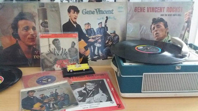 Gene Vincent records 27857811