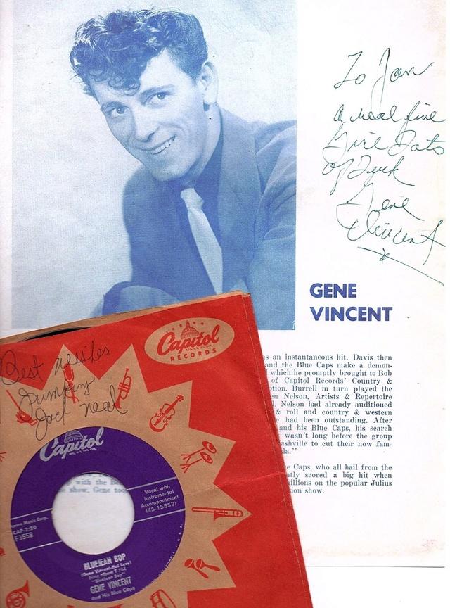 Gene Vincent records Thumbn11