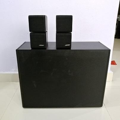 Bose Acoustimass 5 Series II RedLine Double Cube Stereo 2.1 Speaker system 20180267