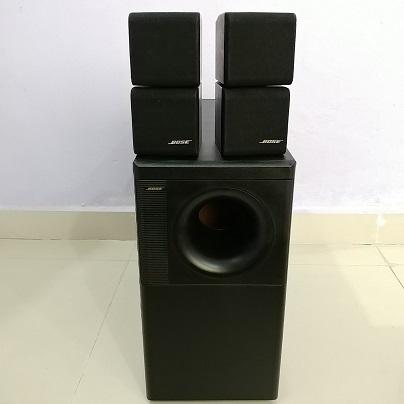 Bose Acoustimass 5 Series II RedLine Double Cube Stereo 2.1 Speaker system 20180268