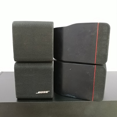 Bose Acoustimass 5 Series II RedLine Double Cube Stereo 2.1 Speaker system 20180269