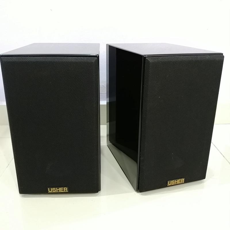 Usher S-520 Bookshelf Speaker 20180420