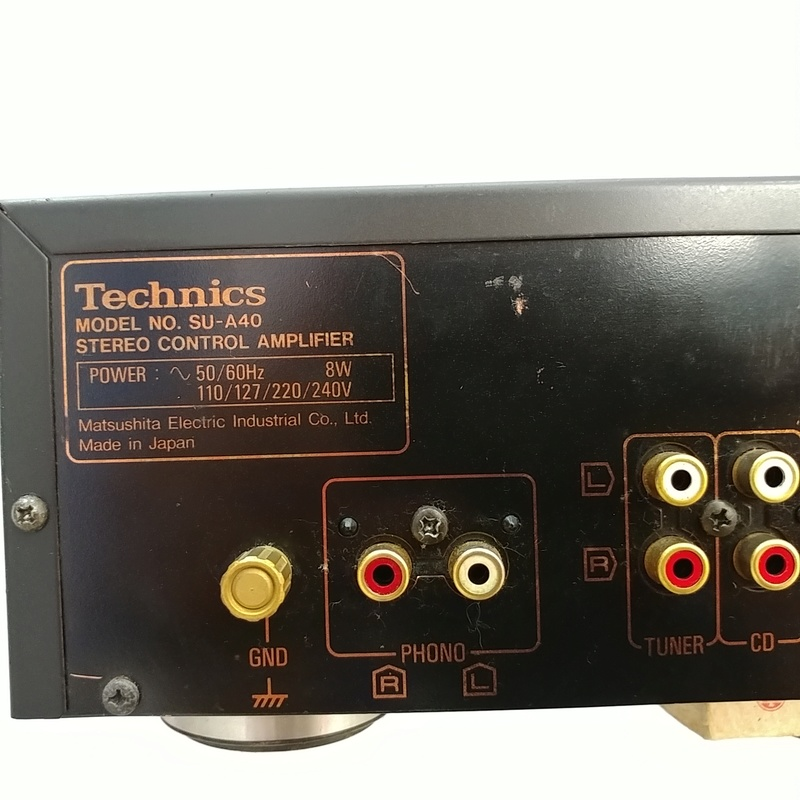 Technics SU-A40 Class AA Reference Stereo PRE Amplifier with MM MC 20180443