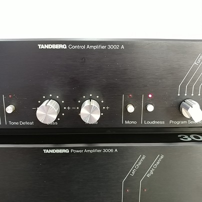 Tandberg NORWAY 3002A Pre and 3006A 150 Watts Power Amplifier Combo  20180572
