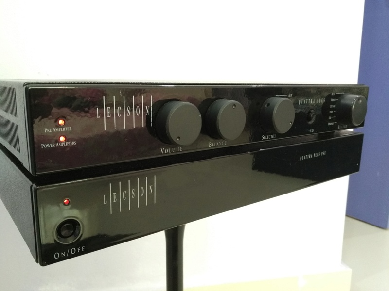 Lecson Quattra PLUS England Made Stereo Integrated Amplifier with External PSU Img_2015