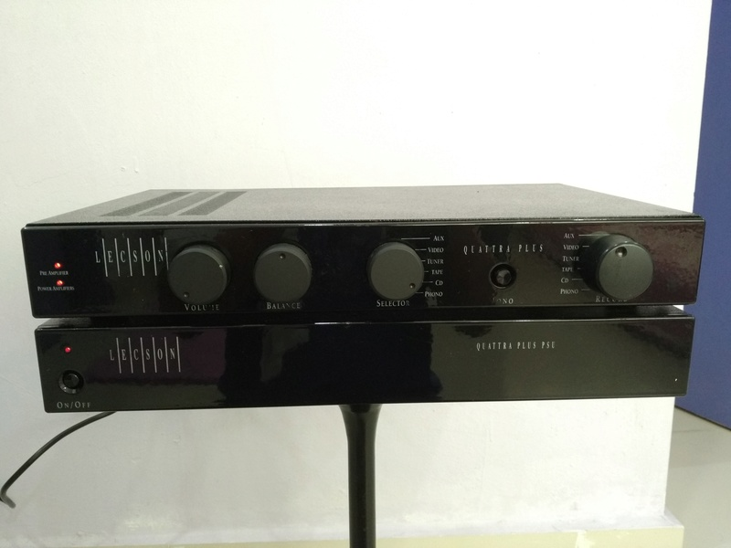 Lecson Quattra PLUS England Made Stereo Integrated Amplifier with External PSU Img_2016