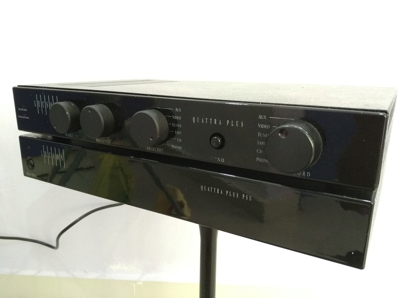 Lecson Quattra PLUS England Made Stereo Integrated Amplifier with External PSU Img_2017