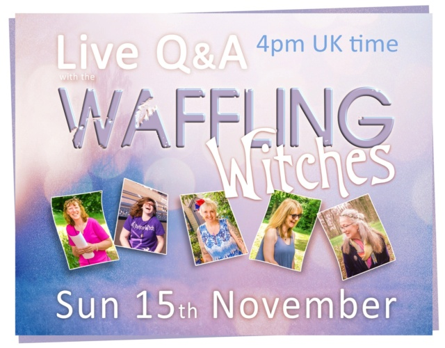 Online live Waffling Witches - Sun 15th November 12009110