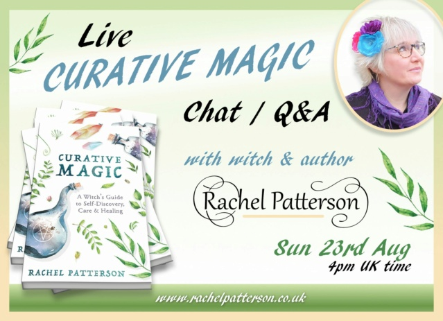 Curative Magic Live Chat - Sun 23rd August 80376710