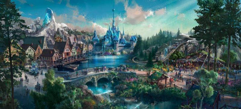 [Hong Kong Disneyland] Nouveau Land La Reine des Neiges (2021) - Page 2 31936510