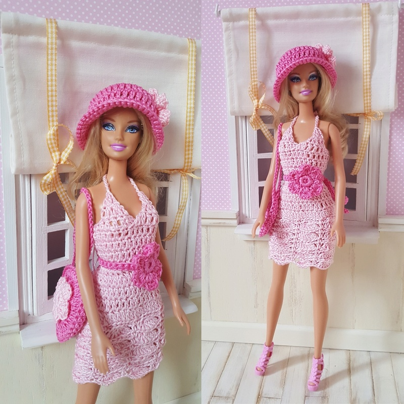 Les Barbies d'Odile, Margaux en page 4 Barbie10