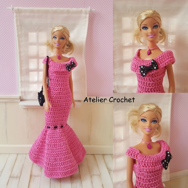 Les Barbies d'Odile, Margaux en page 4 Barbie11