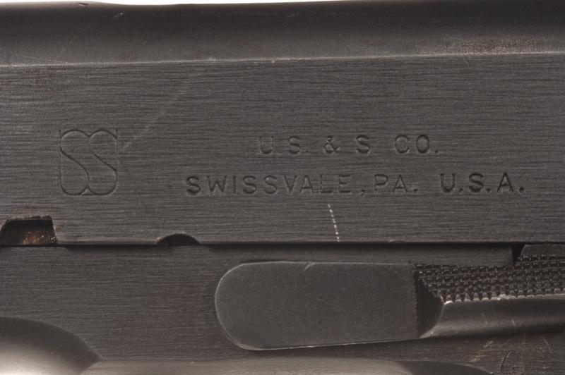 1911A1 US&S - UNION SWITCH & SIGNAL - Caractéristiques _dsc5210