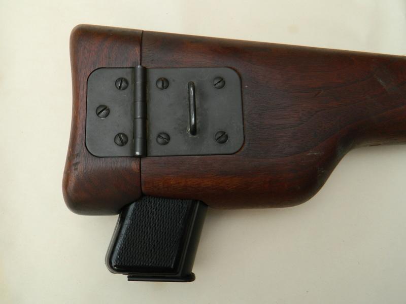 Pistolet  Browning GP No1 MK I* de fabrication canadienne et la crosse en bois Gp_ing13
