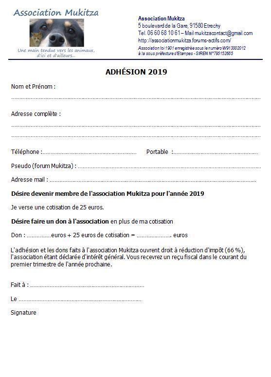Adhésion 2019 Adhes210