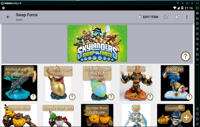 [SITE] Un site qui répertorie toutes les figurines Skylanders, Amiibo, Disney Infinity, etc.... Sky210
