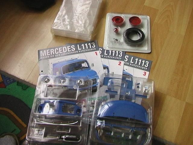 Reinhard's Mercedes L1113 von Hachette in 1:12 Imga0321