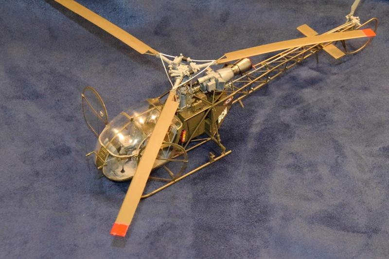 Alouette II - Revell- 1/32 Dsc_0125
