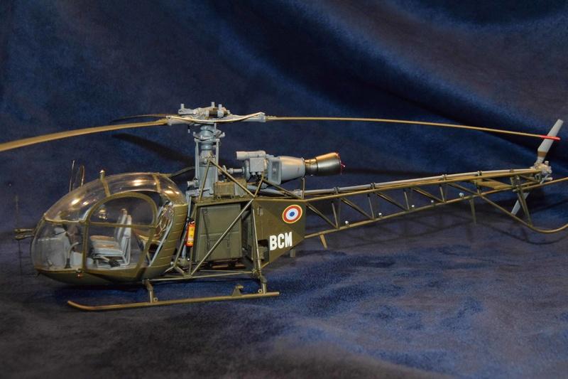 Alouette II - Revell- 1/32 Dsc_0127