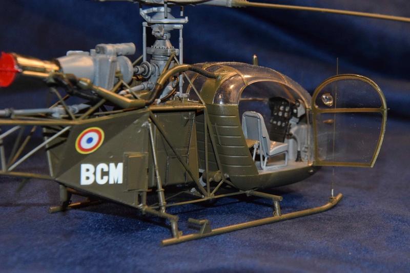 Alouette II - Revell- 1/32 Dsc_0128