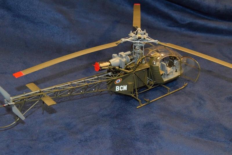 Alouette II - Revell- 1/32 Dsc_0129
