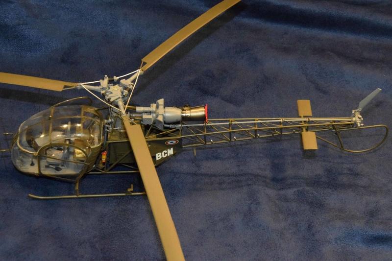 Alouette II - Revell- 1/32 Dsc_0131