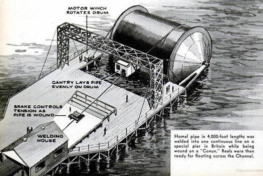 Opération PLUTO (Pipe-Line Under The Ocean) 30739610