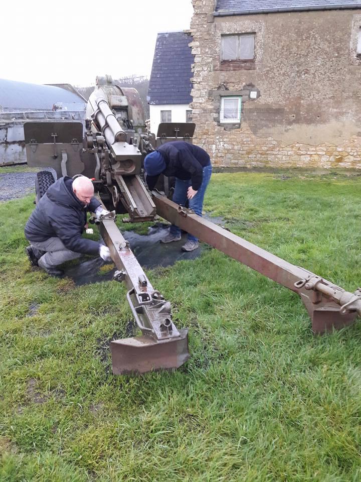 Restauration bénévole du canon de 105 Canon_16