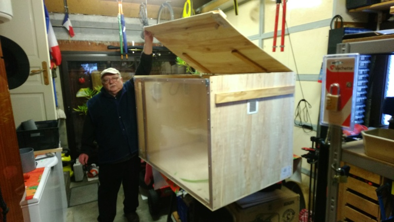 La cabine de sablage des Aigles ! Img_2029