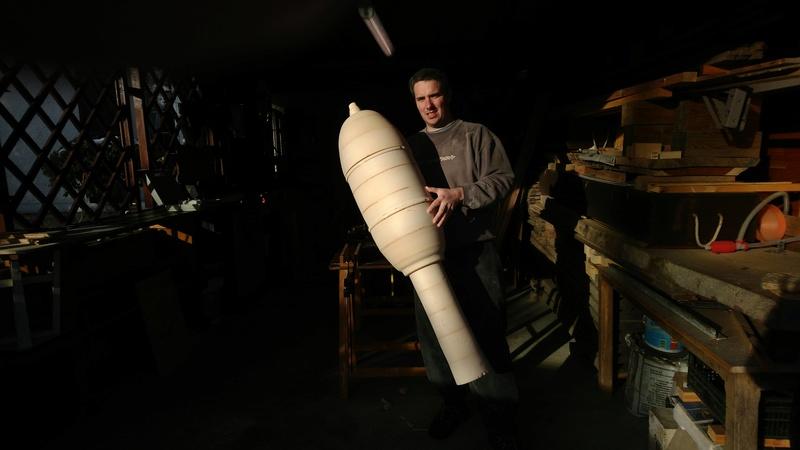 Reproduction de Wurfkörper 32cm pour les Aigles Verts Img_2041