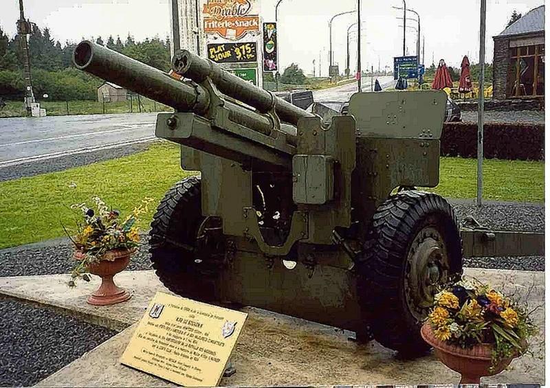 Restauration bénévole du canon de 105 Obusie10