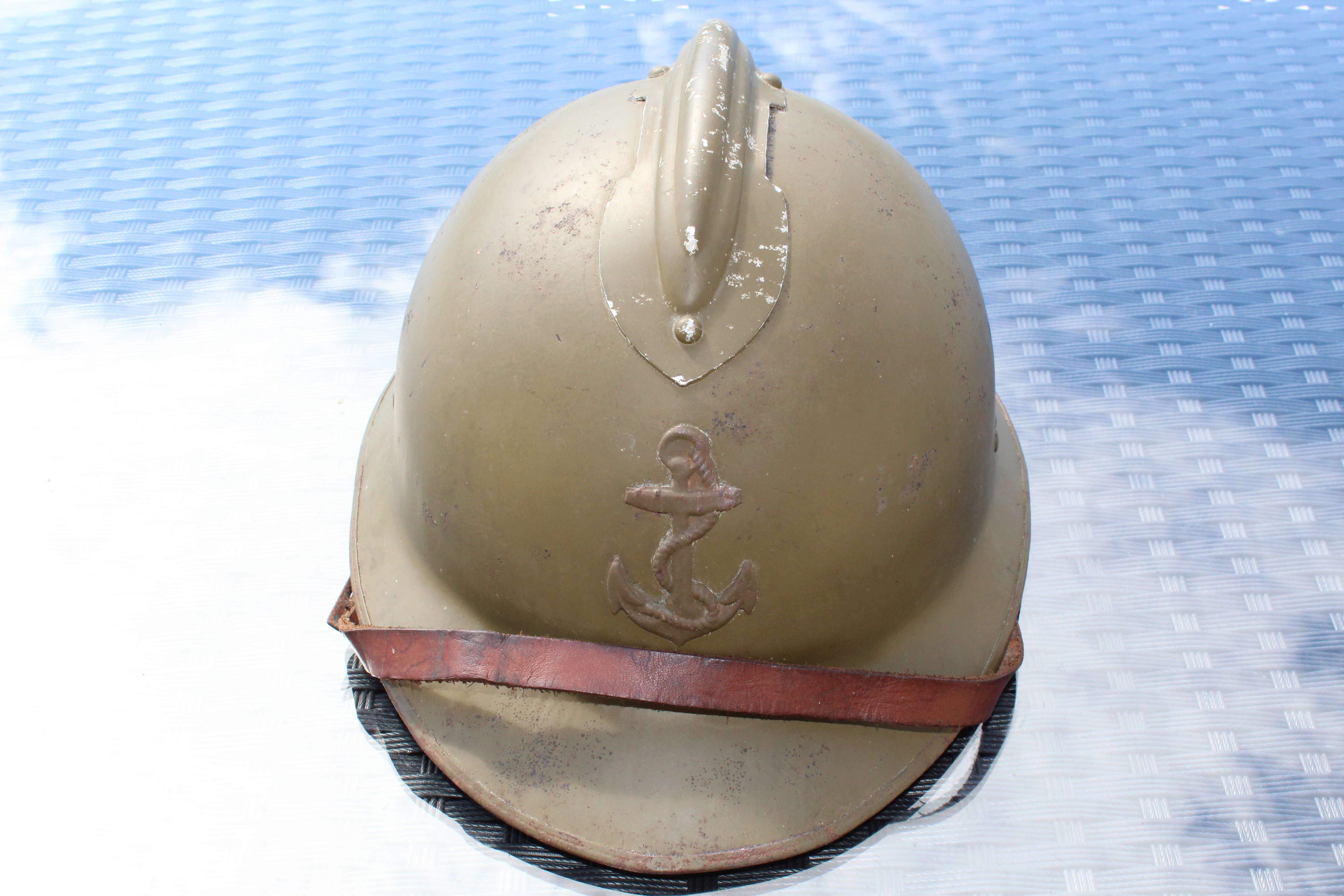 Casque Mod 26 insigne de la colo Mod 29 ESC - Mai 1 Vendu Img_0681