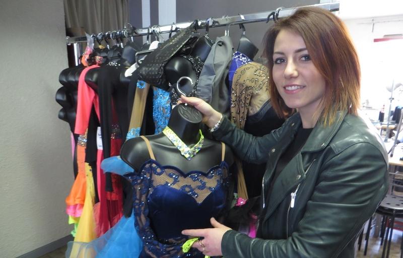 Lyon: Sophie Thomas, la styliste des patineurs français 960x6177