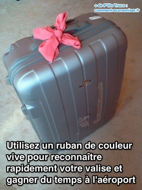 pour les voyages : comment reconnaître facilement vos valise Commen12