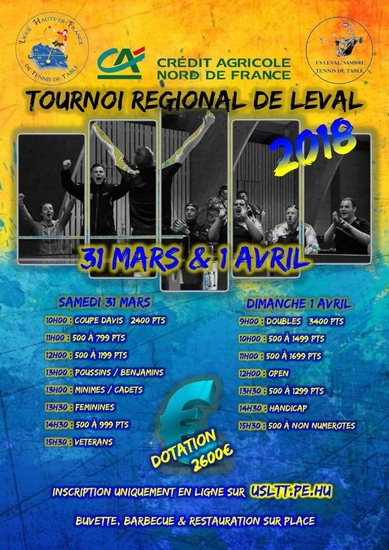 Tournoi de LEVAL - 31 Mars/01 Avril 2018 Tourno10