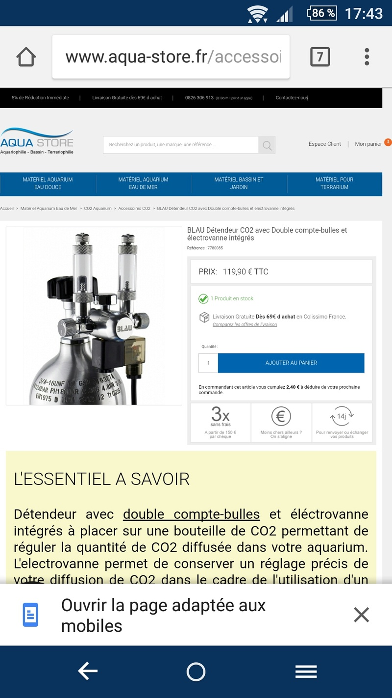 Bouteille co2 Screen11