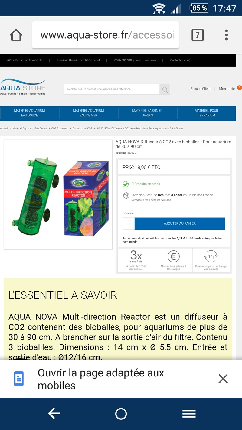 Bouteille co2 Screen12
