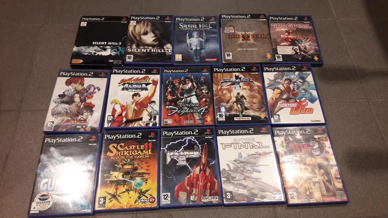 Vds PS2 en boite complète + 15 jeux + sacoche Sony PS2 Lot_ps10