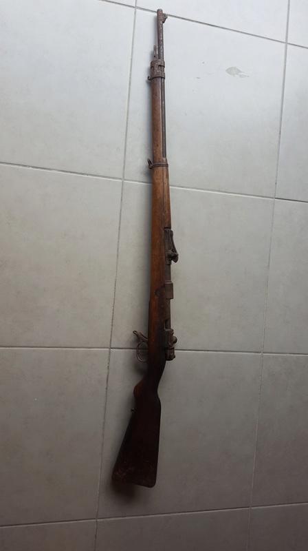 Gewehr 98 qui sort de grenier 20171013
