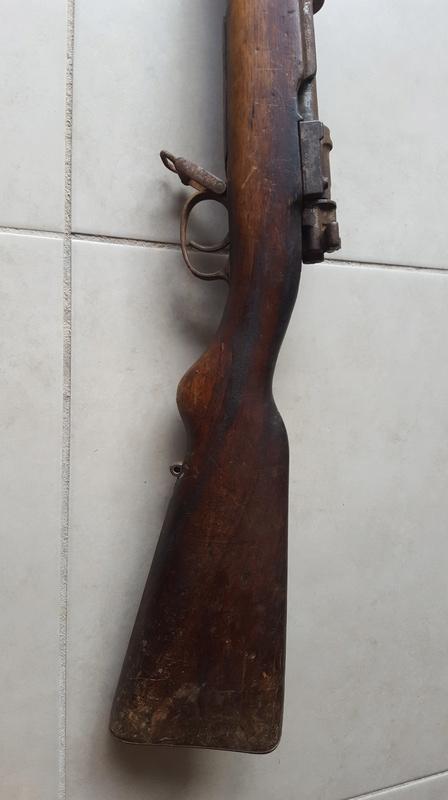 Gewehr 98 qui sort de grenier 20171015