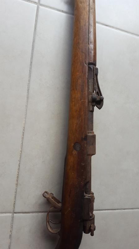 Gewehr 98 qui sort de grenier 20171019