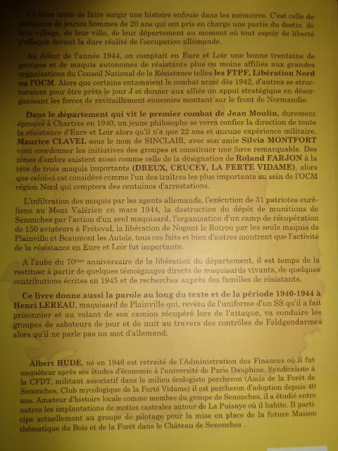 La Résistance en Eure et Loire Albert HUDE L_210