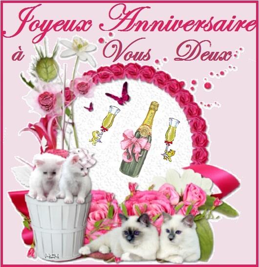 [Anniversaire(s)...] Denise et Dédé , jmt46 Joy_an79