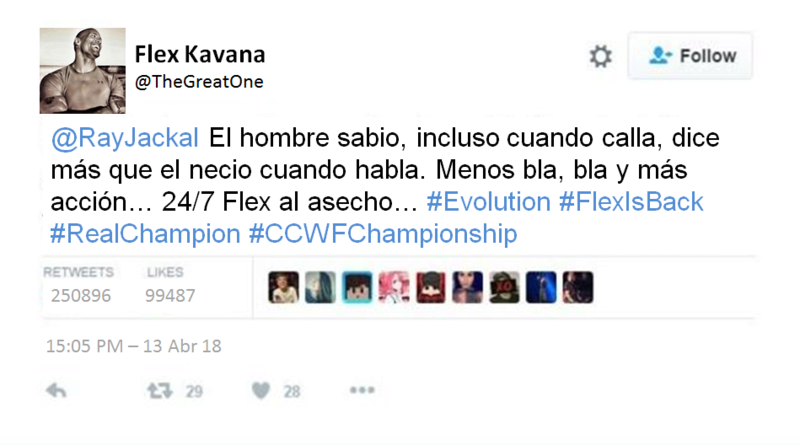 EVOLUTION #05 - 11.04.2018 Flex3610
