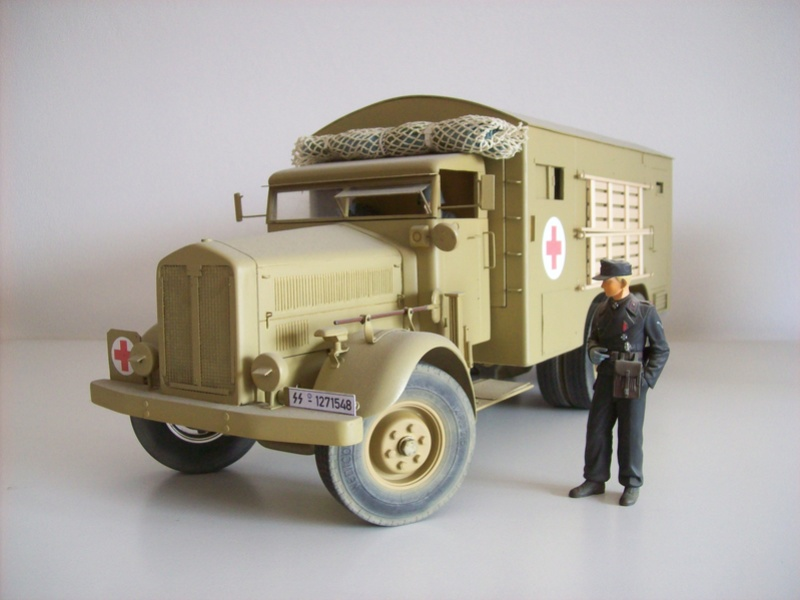 Heng Long Military Truck 1:16 Hens_011